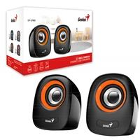 Genius SP-Q160 Orange Stereo Speakers