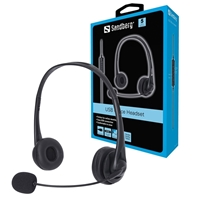 Sandberg USB Headset with Microphone