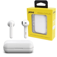 PREVO X12 TWS Wireless Earbuds with Bluetooth 5.0 and Wireless Charging Case